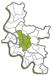 Pflegedienst im Stadtgebiet von Düsseldorf