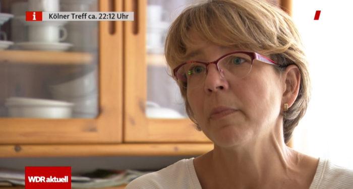 Iris Sinz bei WDR Aktuell